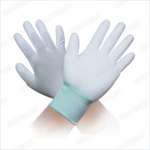 Palm PU Coated Nylon Gloves