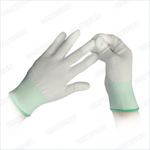 Top PU Coated Nylon Gloves